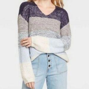 NWT! Knox Rose Sweater Stripe S